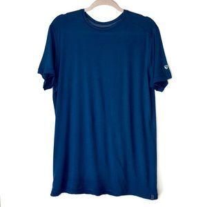 KUHL. True Blue basic tee. Size Large